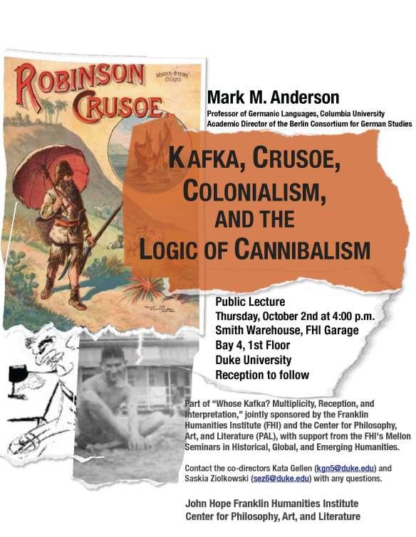 Anderson, Kafka Crusoe Colonialism