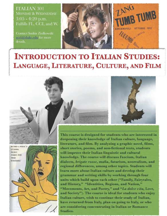 Introduction to Italian Studies