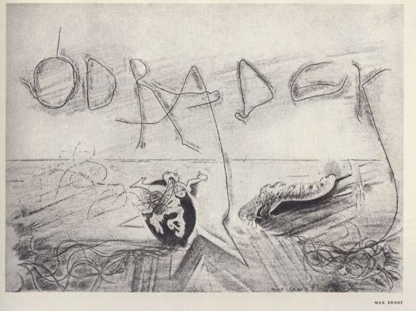 Ziolkowski scan Max Ernst, Odradek, Minotaure