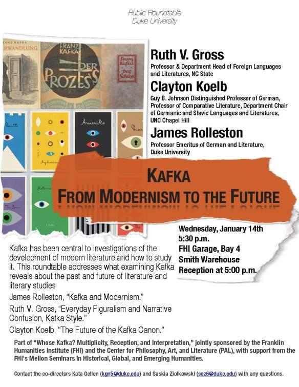 Kafka Roundtable, January 14