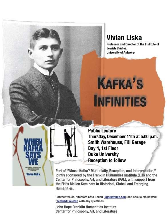 Liska, Kafka's Infinities