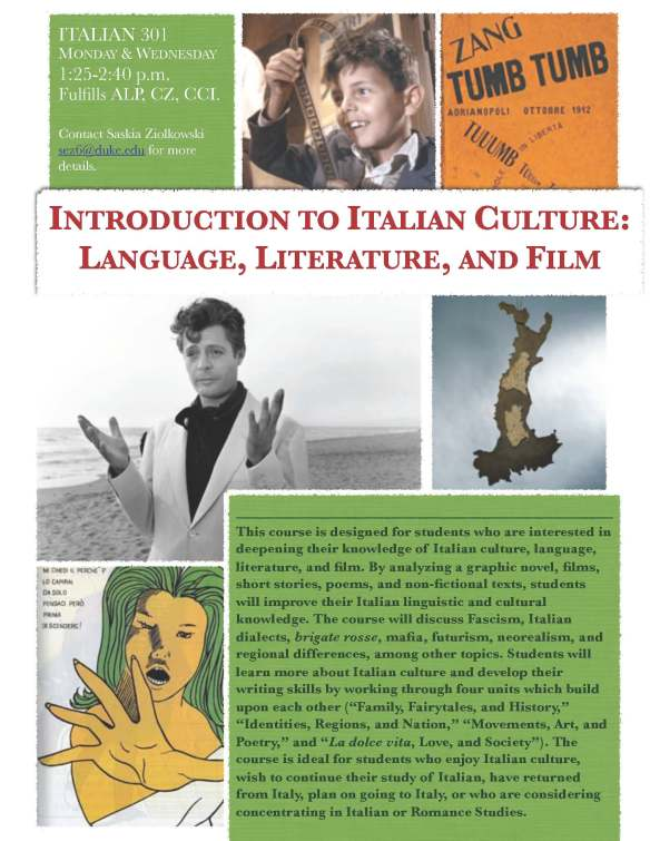Introduction to Italian Culture